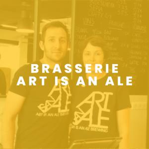 Brasserie Art is an ale